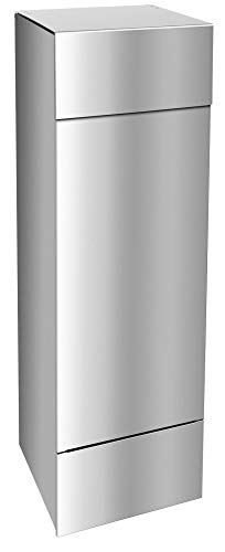 Frabox® Design Paketkasten Edelstahl für alle Paketdienste, jederzeit bequem Pakete empfangen!