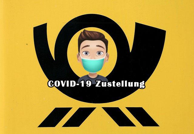 Covid-19 Zustellung DHL